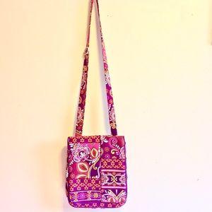 Vera Bradley bag in Sunset safari print